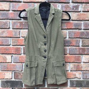 Rag & Bone | Army Green Military Cargo Vest